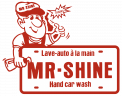 Mr Shine Car Wash Logo